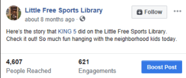 Building a Little Free Sports Library – PHE America